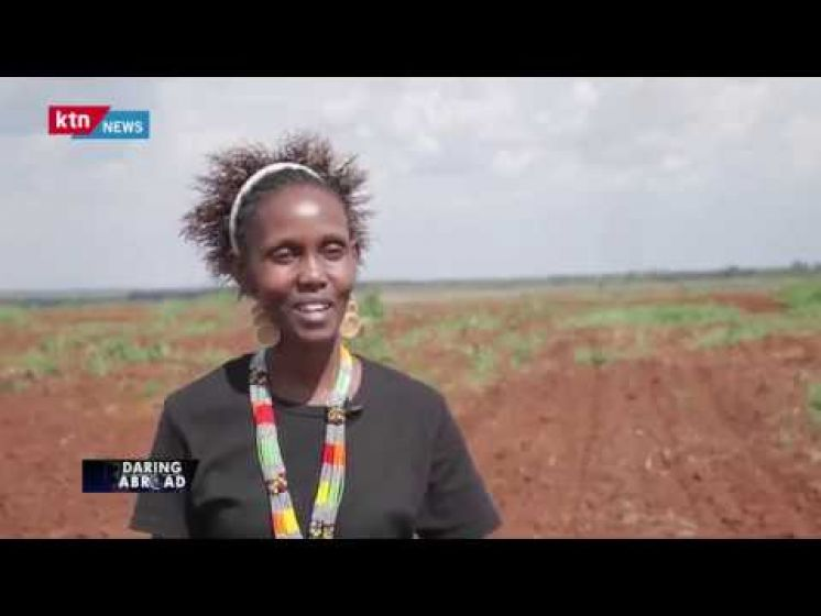 Grace Mwangi: Kenyan Large Scale Farmer in Uganda