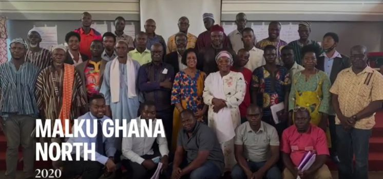 The highlights from the visit to northern Ghana in December 2020
