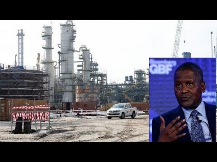 Africa's richest man Dangote signs $650m loan for oil refinery project