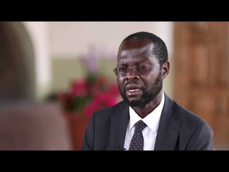 Kenyan Governor Anyang Nyong'o talks about his daughter, Academy Award winner Lupita Nyong'o
